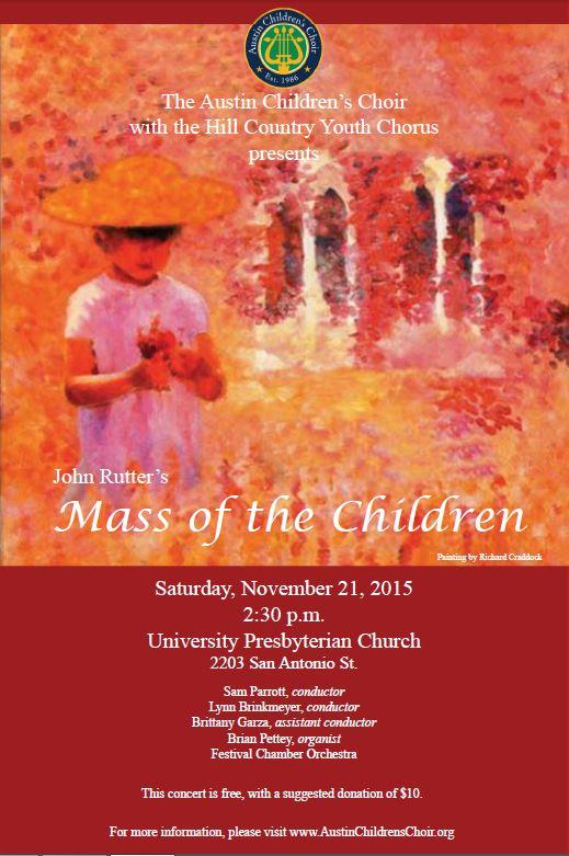 Mass of the Children Poster